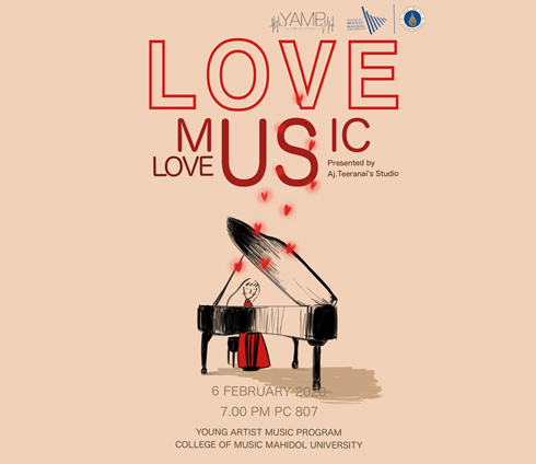 Love Music Love Us by Aj.Teeranai's Studio