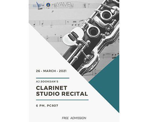 Clarinet Studio Recital